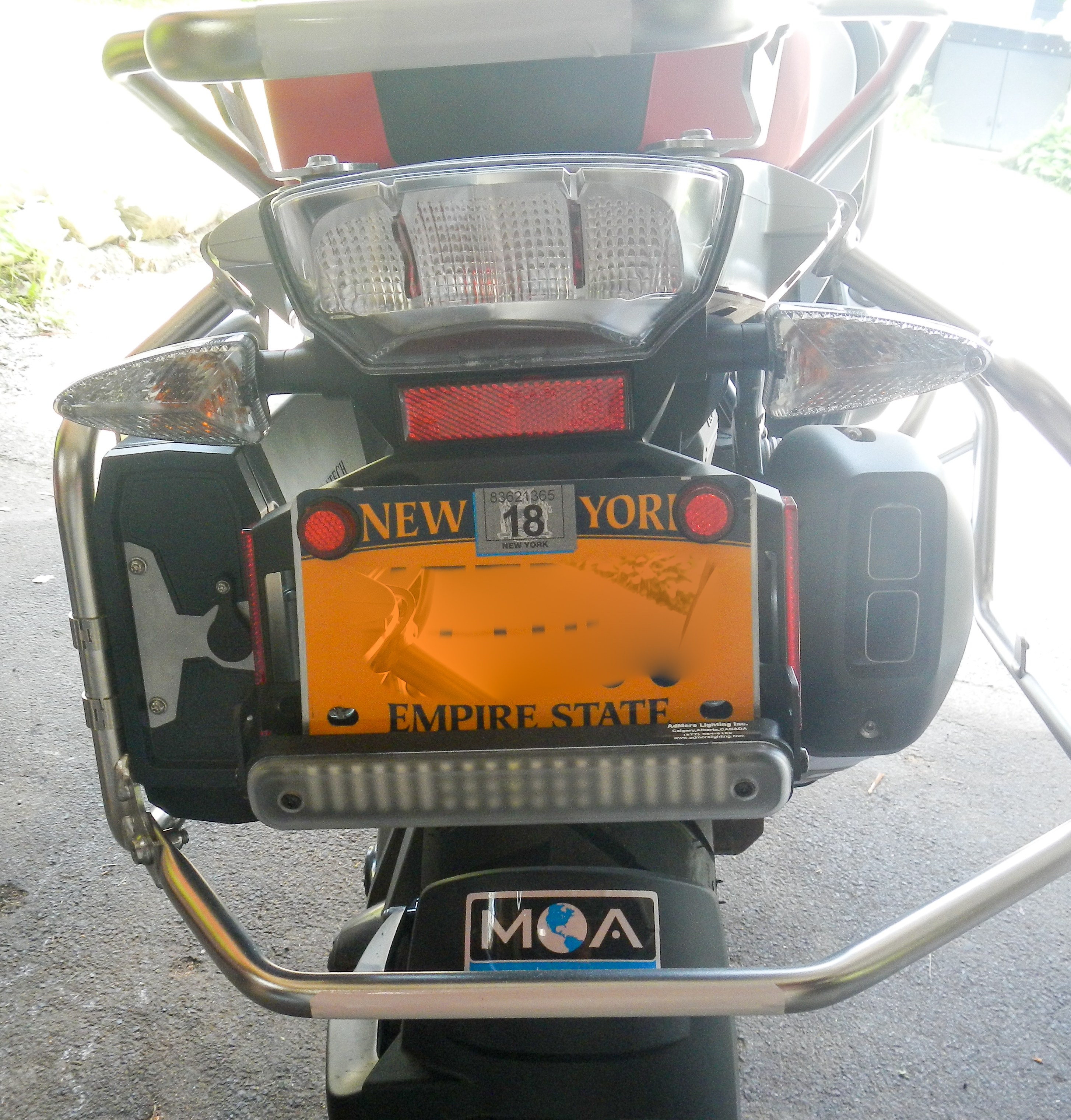Admore taillights anyone done an installation bmw r1200gs forum attached images asfbconference2016 Gallery