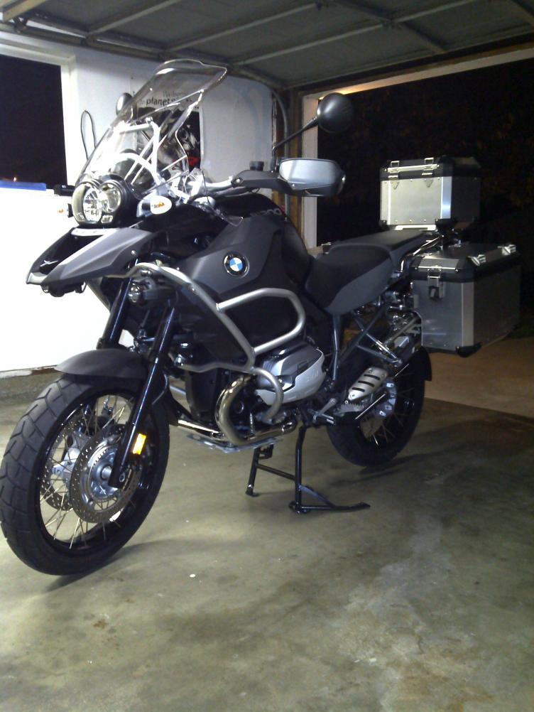 My new BMW GS Adventure, 2013 Triple Black - BMW R1200GS ...